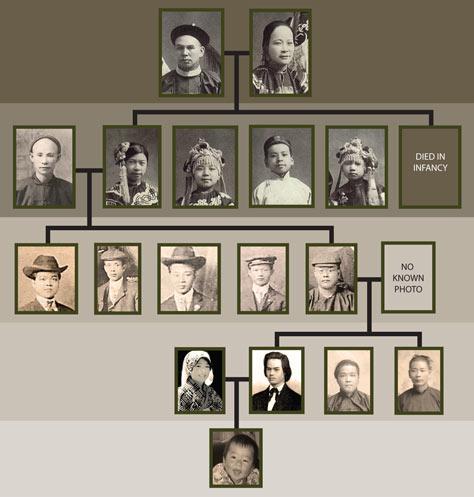 family tree flow chart